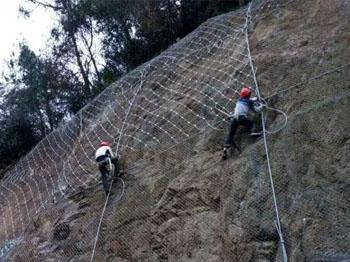主动防护网施工